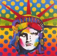 Peter Max - Liberty Head V