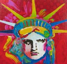 Peter Max - Liberty Head IV