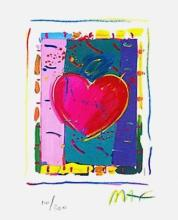 Peter Max - Heart Series IV