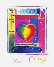 Peter Max - Heart Series III