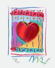 Peter Max - Heart Series II