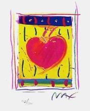 Peter Max - Heart Series VI