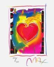 Peter Max - Heart Series I