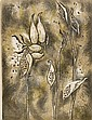 Margaret Lowengrund (American, 1905-1957) Milkweed, 1952, edition of 200. Signed and dated ..., Margaret Lowengrund, Click for value