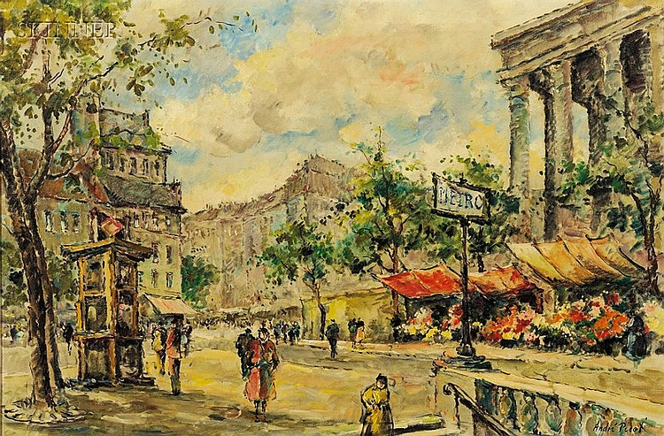 Andre Picot (French, 1910-1992), La Madeleine, Signed