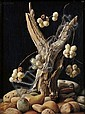 Lodewijk Karel Bruckman (American, 1913-1980), Berries and Driftwood, Signed, inscribed and dated