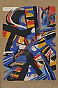 Edo Murtic (Croatian, 1921-2005) Expressionist Composition Signed and dated