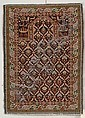 Kuba Prayer Rug, Northeast Caucasus, last quarter 19th century, (slight end fraying, re-overcast), 4 ft. 2 in. x 3 ft.