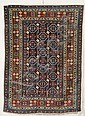 Kuba Rug, Northeast Caucasus, early 20th century, (small spots of slight wear in border), 5 ft. 10 in. x 4 ft. 2 in.