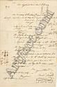 Arnold, Benedict (1741-1801), Autograph document signed, New Haven, 28 June, 1769, one page, to Mr. Cables, concer...
