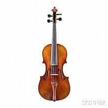 Violin, Jean Baptiste Vuillaume, labeled JEAN BAPTISTE VUILLAUME A PARIS, length of back 357 mm, with case.Certificate: Tibor Semmelwei
