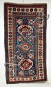 Kazak Long Rug, Southwest Caucasus, dated 1889, (creases, very slight moth damage, small repiling repair in one corner, brown oxidation