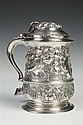 GEORGE II SILVER TANKARD, Thomas Cooke II and Richard Gurney, London, 1752. - 30 oz., 2 dwt.; 7 3/4 in. high.
