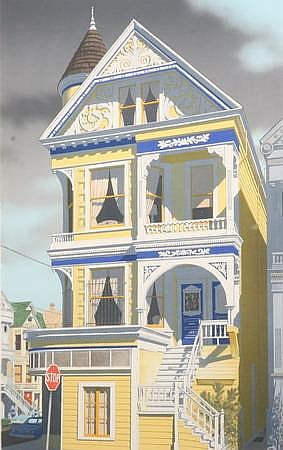 MEL HUNTER (American, b. 1927). PAINTED LADY, signed, dated 1980, titled, inscribed 60 APs and numbered 229/300 in pencil, lower marg