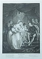 FOUR BLACK AND WHITE ENGRAVINGS FROM THE PLAYS OF WILLIAM SHAKESPEARE. - 27 1/2 in. x 18 3/4 in., sight size.