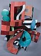 HEATHER MARCUS (American, b. 1939). UNTITLED, metal sculpture.