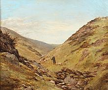 SAMUEL BOUGH (Scottish, 1822-1878). CLOSE OF DAY, signed lower left. Oil on canvas.