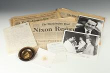 GROUP VARIOUS LATE 20TH CENTURY PRESIDENT CARTER RELATED AND OTHER POLITICAL EPHEMERA.