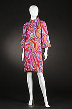 VINTAGE CHARLES ROOM FOR THE HECHT CO. PARTY DRESS, late 1960s.