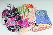 COLLECTION VINTAGE EMILIO PUCCI NYLON LINGERIE. 1960s-1970s; for Formfit Rogers.