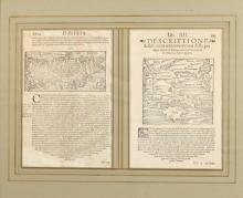 MUNSTER-GREECE, Corca 1575. - Framed, 11 in. x 14 in.