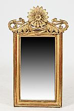 ENGLISH REGENCY-STYLE GILT MIRROR, Circa 1850. - Approx. height, 44 in.