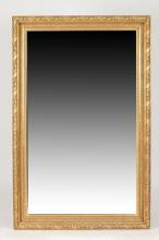 LARGE GILTWOOD FRAMED MIRROR. 20th Century. - 68 5/8