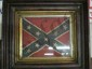 FRAMED CONFEDERATE FLAG