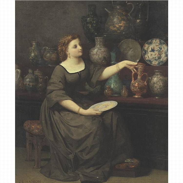 * JEAN-LOUIS HAMON ST-LOUP-DE-PLOUHA 1821 - 1874 SAINT RAPHAEL