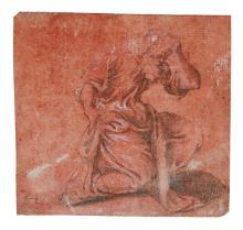 CAMILLO BOCCACCINO | A bearded Saint?kneeling