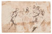 ROMAN SCHOOL, CIRCA 1620 | The Execution of St John the Baptist