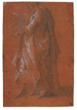 ANDREA MELDOLLA, CALLED SCHIAVONE | A Saint reading