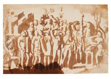 CIRCLE OF NICOLAS POUSSIN | A group of soldiers, from?Trajan's Column