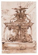 A GROUP OF 8 ITALIAN OLD MASTER DRAWINGS OF THE 18TH CENTURY  
