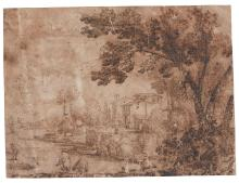A GROUP OF 14 ITALIAN OLD MASTER DRAWINGS FROM THE 16TH AND 17TH CENTURIES  