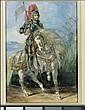 * EUGÈNE DELACROIX MAURICE, NEAR PARIS 1798 - 1863 PARIS, Eugene Delacroix, Click for value