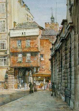 THOMAS MATTHEWS ROOKE, R.W.S. (1842-1942) ST. BARTHOLOMEW'S