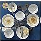 Daniel Spoerri , n. 1930 Tableau piège tecnica mista su tavola e plexiglas   , Daniel Spoerri, Click for value