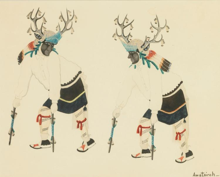 Awa Tsireh (1898-1955), San Ildefonso