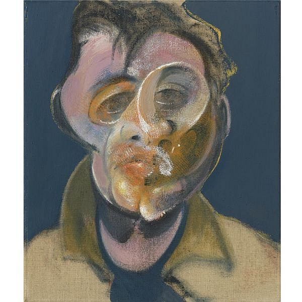 l - Francis Bacon , 1909-1992 Self Portrait oil on canvas