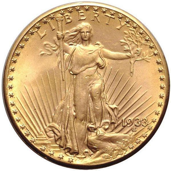 THE 1933 DOUBLE EAGLE