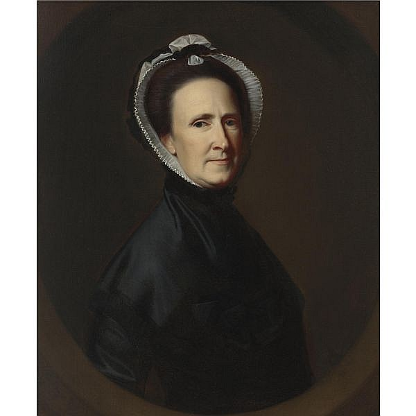 John Singleton Copley 1738-1815 , Mrs. Samuel Watts (Sarah Osborne) oil on canvas
