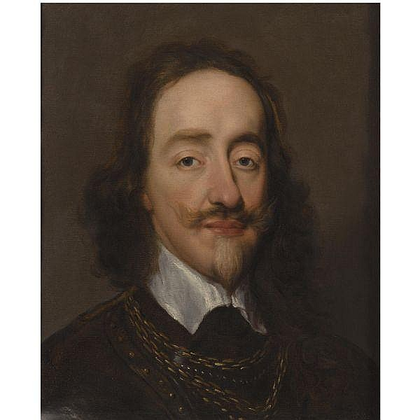 William Dobson , 1611-1646 Portrait of King Charles I   oil on canvas
