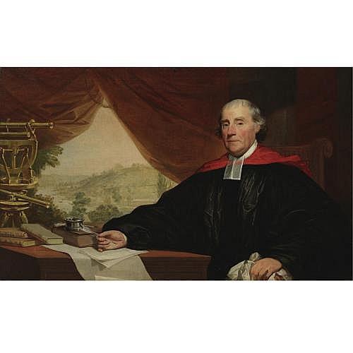 Gilbert Stuart 1755-1828 , Dr. William Smith