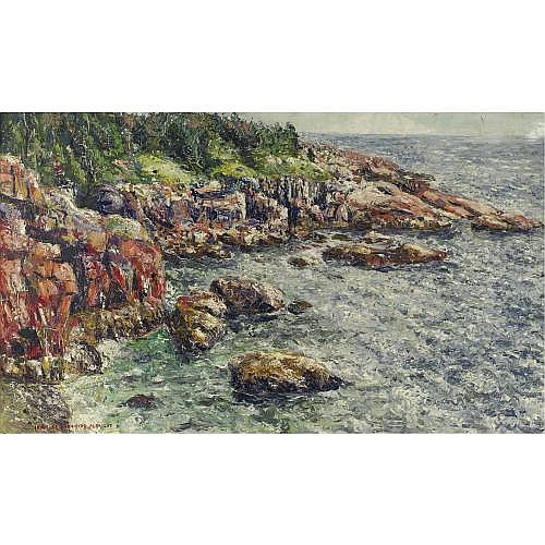 u - Ivan Le Lorraine Albright 1897-1983 , Coast of Maine
