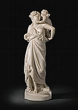 ALBERT-ERNEST CARRIER-BELLEUSE | Allegory of Love