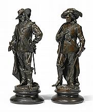 ALBERT-ERNEST CARRIER-BELLEUSE | King Charles I and Oliver Cromwell