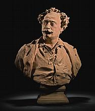 JEAN-BAPTISTE CARPEAUX | Bust of Alexandre Dumas, fils