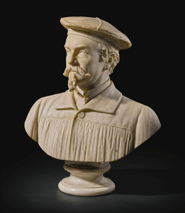 WILLIAM WETMORE STORY | Self-portrait bust