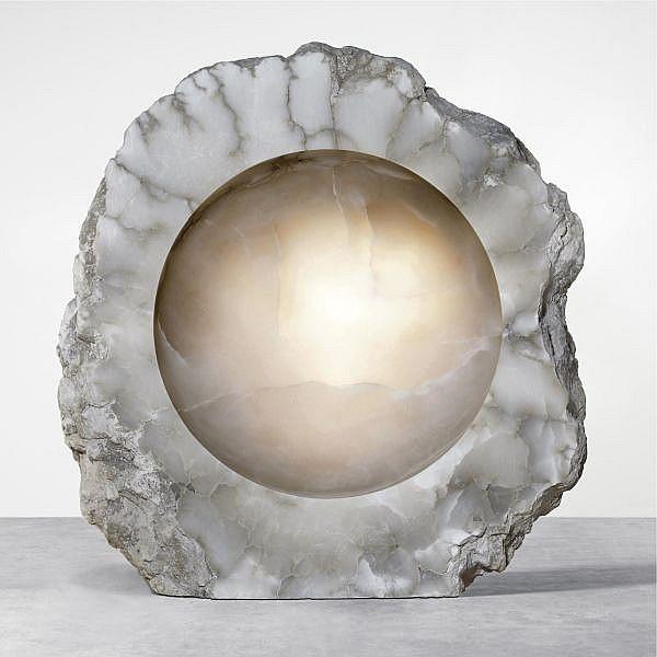 - Anish Kapoor , b. 1954 Untitled alabaster